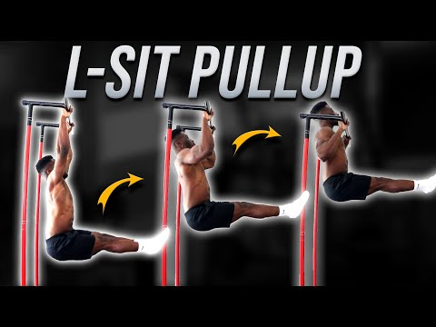 Learn How to L-sit Pullup (Easy!)   L-sit Muscles Worked