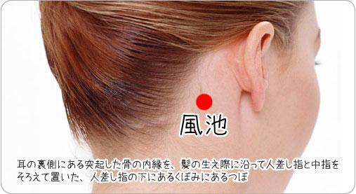 片頭痛を治すつぼ
