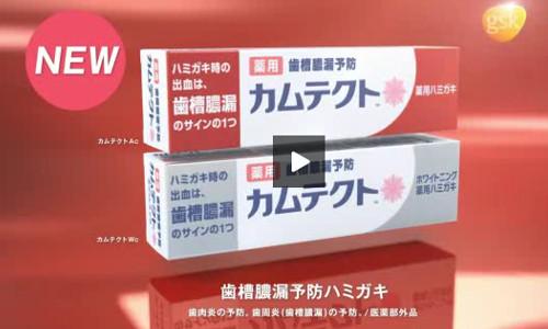 薬用歯ハミガキ・カムテクトCM3
