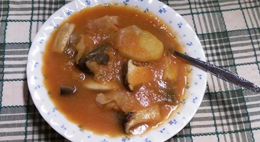 血液をサラサラにする玉ねぎ氷スープレシピ(ポトフ)