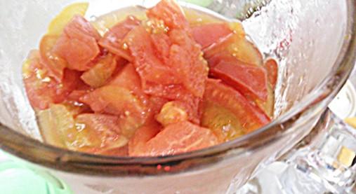 【保存版】 玉ねぎ氷・ミックスやさい氷の作り方(タマネギ&トマト)6