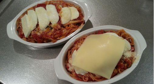 とろ~りチーズ&焦げ目が美味い!オーブン焼きパスタ(アル・フォルノ)6