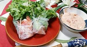 超~簡単前菜 生春巻きレシピ!?おしゃれにイタリアンオードブルを8