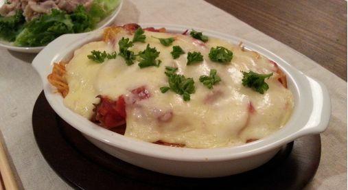 とろ~りチーズ&焦げ目が美味い!オーブン焼きパスタ(アル・フォルノ)7