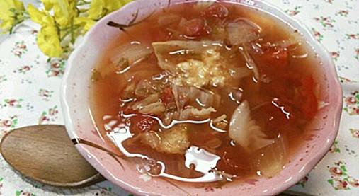 ダイエット&疲れた体に即効デトックス!脂肪燃焼スープ7日間レシピ7