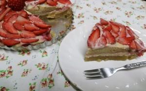 マクロビスイーツ♪いちごのタルト!?クリスマス&お誕生日ケーキに!14