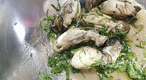 亜鉛で味覚障害を予防!牡蠣と大葉のマリネ・ボンビーガール杉本彩編6