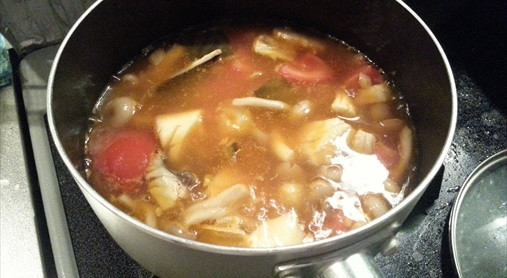 超~簡単さばのピリ辛中華スープ!?サバのEPAダイエットレシピ!9