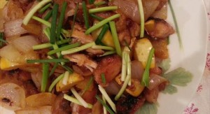 NK細胞&抗酸化作用でガン予防!?カボチャと鶏肉のピリ辛ニンニク煮8