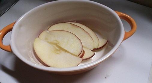 ほっかほか~リンゴのキッシュ風スイーツ!?ホットケーキミックスで!