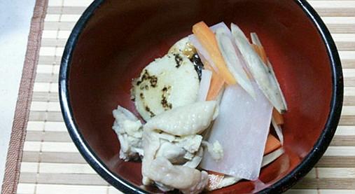 アッサリお雑煮なら関東風で!?けんちん汁風お雑煮の作り方!10