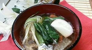 アッサリお雑煮なら関東風で!?けんちん汁風お雑煮の作り方!12