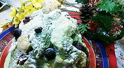 クリスマスツリーの抹茶ケーキ!?食パン&ホットケーキミックスで!10