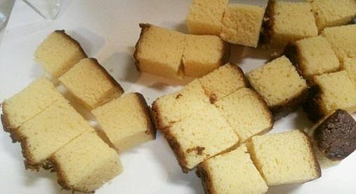 文明堂カステラをリメイクスイーツ!?豆腐の健康アレンジチーズケーキ!2