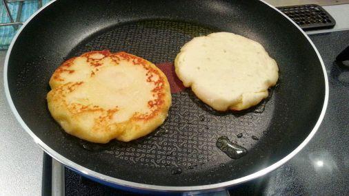 朝食やおやつにおすすめ~!?じゃがいものポテトパンケーキ作り方!8