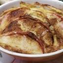 ほっかほか~リンゴのキッシュ風スイーツ!?ホットケーキミックスで!4