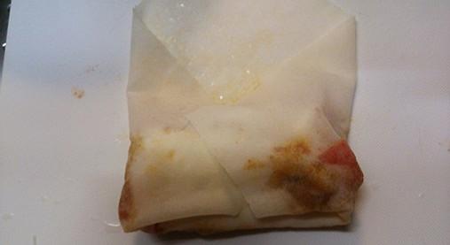 オーブントースターで作る~ピザ風イタリアン春巻き!?《ギャル曽根ちゃん》7
