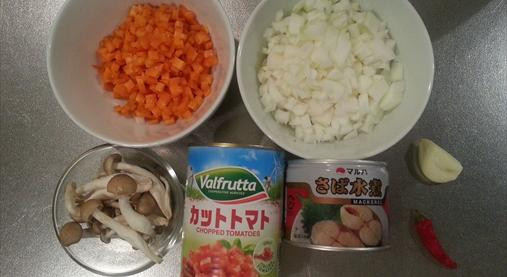 サバ缶トマトパスタレシピ|ダイエットホルモンGLP-1たっぷり!