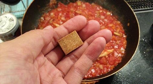 サバ缶トマトパスタレシピ|ダイエットホルモンGLP-1たっぷり!6