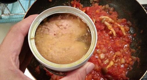 サバ缶トマトパスタレシピ|ダイエットホルモンGLP-1たっぷり!7