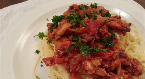 サバ缶トマトパスタレシピ|ダイエットホルモンGLP-1たっぷり!9