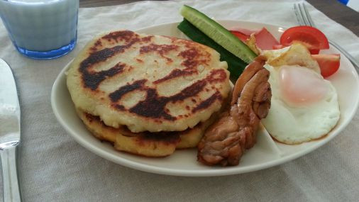 朝食やおやつにおすすめ~!?じゃがいものポテトパンケーキ作り方!9