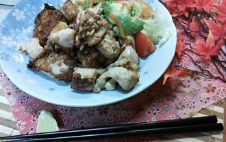 豆腐と鶏むね肉でヘルシー唐揚げ!にんにく&生姜アレンジ《ギャル曽根》6