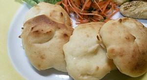 もっちり美味しい~お豆腐パンしょうが風味!?ベジプレートのお供に!10