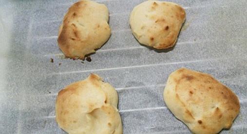 もっちり美味しい~お豆腐パンしょうが風味!?ベジプレートのお供に!7