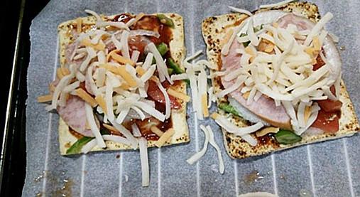 ダイエット中OK~スライス豆腐のピザ風味!?豆腐で簡単おやつもバッチリ!8