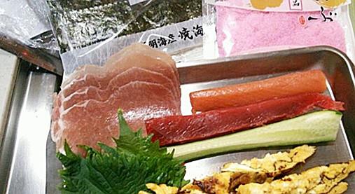 洋風・海鮮恵方巻き~節分用!?醤油なしで美味しい恵方巻きレシピ!2