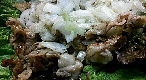 生の玉ねぎがウマさの秘密!?玉ねぎと豚肉のアッサリ焼きレシピ!8