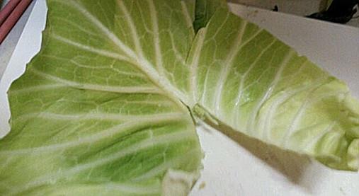 豚肉&野菜(きゃべつ・なす)の串ロール!?簡単おつまみの作り方!2