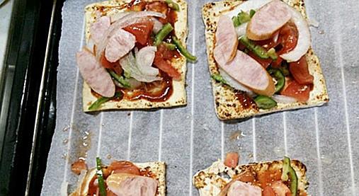 ダイエット中OK~スライス豆腐のピザ風味!?豆腐で簡単おやつもバッチリ!7