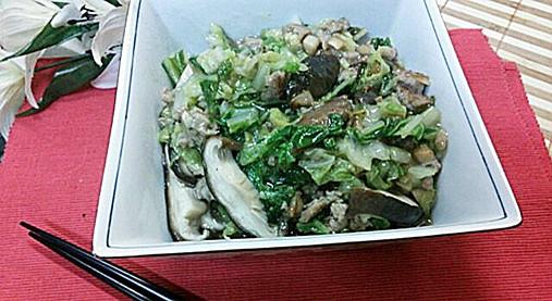 寒い日に!濃厚とろ~り白菜【シイタケと白菜のあんかけ煮レシピ】7