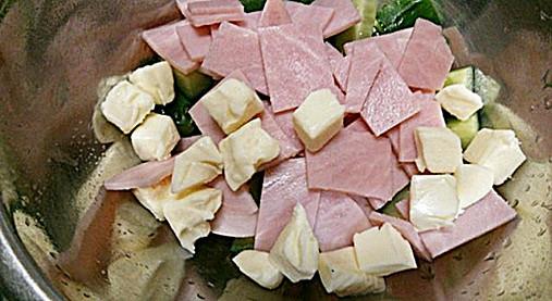 手作りフライドガーリック風味が良い!?きゅうり&チーズの和え物レシピ!2