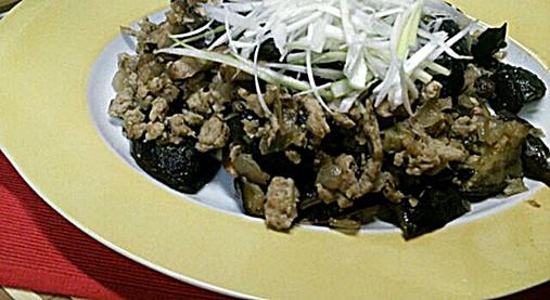 柔らか鶏ひき肉で美味しいナス炒め【ナスの中華風炒めレシピ】10