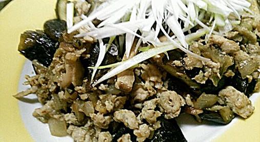 柔らか鶏ひき肉で美味しいナス炒め【ナスの中華風炒めレシピ】9