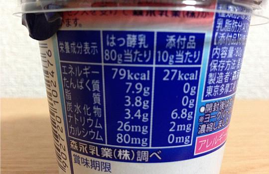森永・濃密ギリシャヨーグルトラズベリー味!?ソース別比較と食べた感想!3
