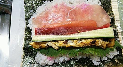 洋風・海鮮恵方巻き~節分用!?醤油なしで美味しい恵方巻きレシピ!9