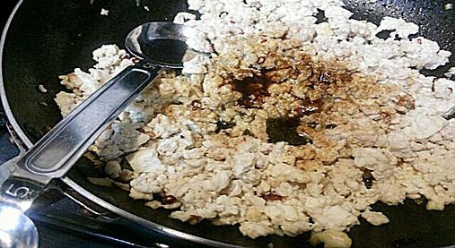 爽やかな風味~鶏のバジル炒めご飯!?ギャル曽根ダイエットレシピ!8