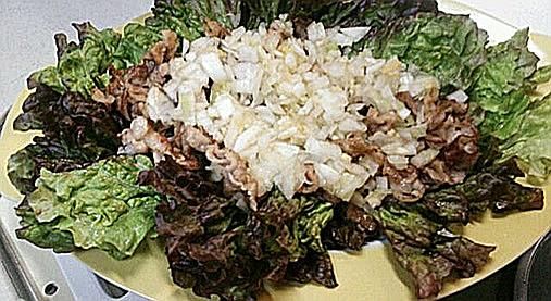 生の玉ねぎがウマさの秘密!?玉ねぎと豚肉のアッサリ焼きレシピ!9