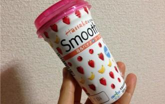 Hanakoとコラボしたスムージー!?苺&ばななヨーグルト口コミと飲んだ感想!