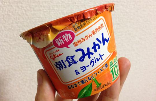 朝食みかん&ヨーグルト!?新物温州みかん60%~メッチャ美味しいね!