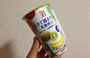 セブン&アイ~のむフルーツ&野菜ヨーグルト!?生きて腸まで届く乳酸菌!