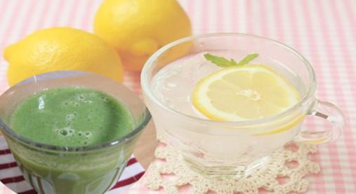 痩せている人は朝~なに飲んでるの!?ホットレモンや青汁のみ方と効果!4