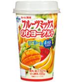 おいしく果実フルーツミックスのむヨーグルト195g