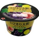 とびきり大粒ヨーグルトぶどう&白桃120g