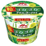 森永「粒ゴロゴロアロエ&ヨーグルト」新発売2