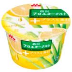 森永アロエヨーグルト+な素材グレープフルーツ118g